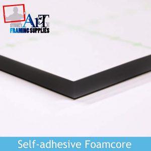 Black Self-adhesive