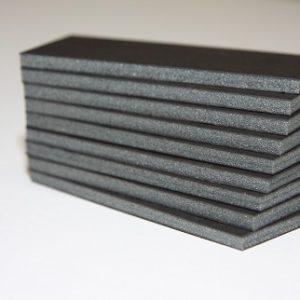 Black foam