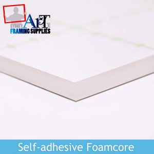White Self-adhesive